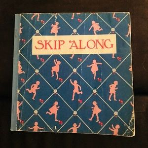 1956 VTG  Children's Book Skip Along